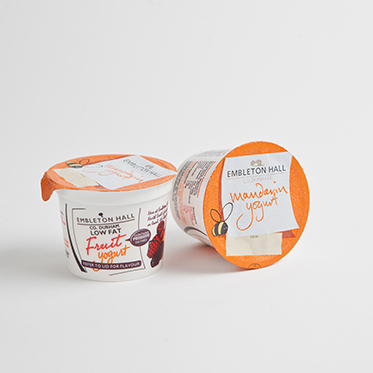 Dairy Products - Flavoured Natural Yoghurt - Mandarin